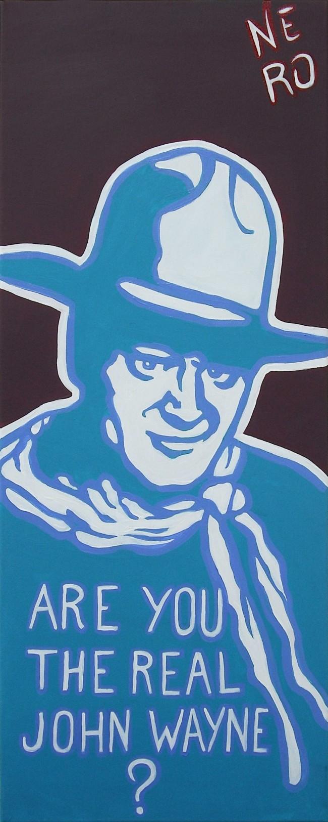 The Real John Wayne – Nero Cavargini